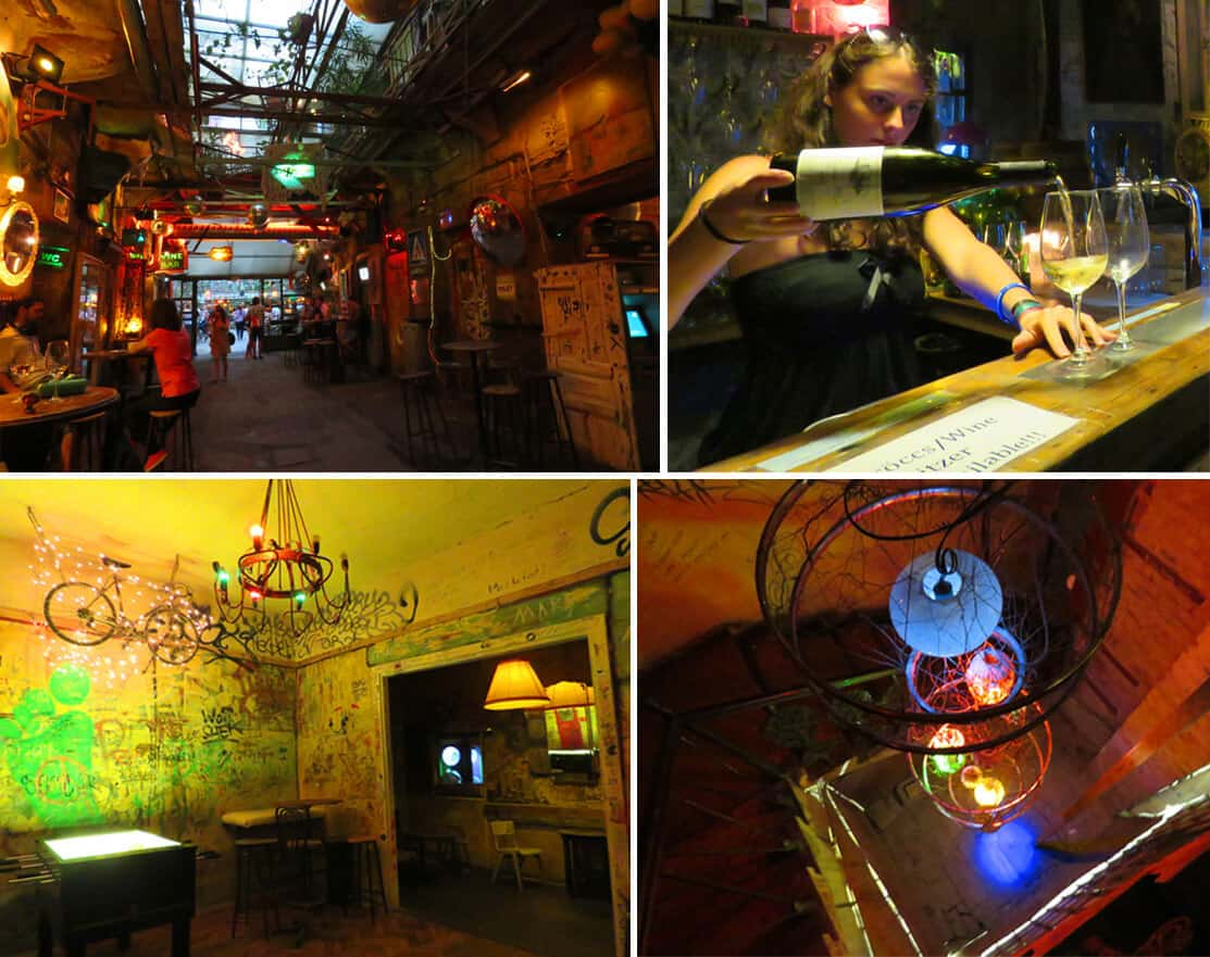 Szimpla Kert, Budapest. The Coolest Ruin bars in Budapest
