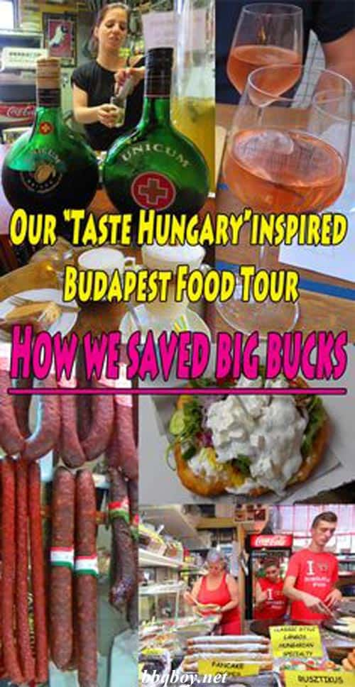Our Taste Hungary inspired Budapest Food Tour
