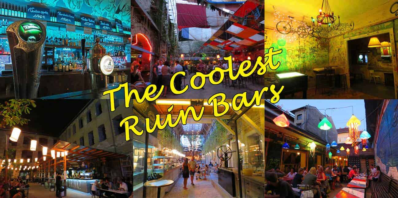 The Coolest Ruin bars in Budapest