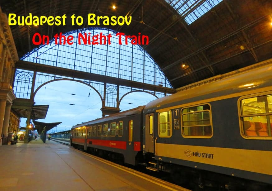 Budapest to Brasov on the Night train