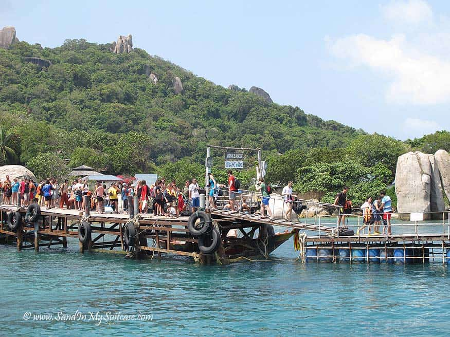 Busy Koh Tao - disappointing
