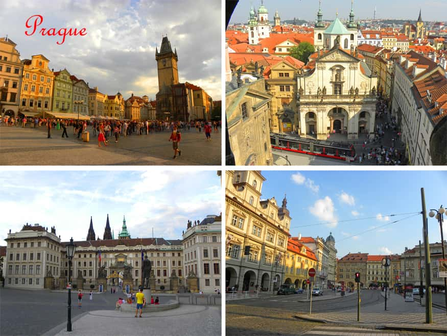 The most beautiful squares in Prague