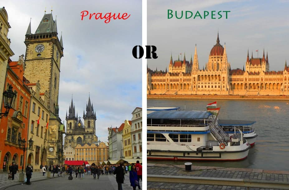 Prague Or Budapest Which To Visit The Travels Of