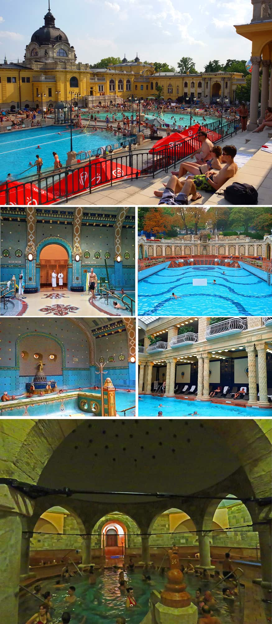 Thermal baths in Budapest. Prague or Budapest – which to visit?