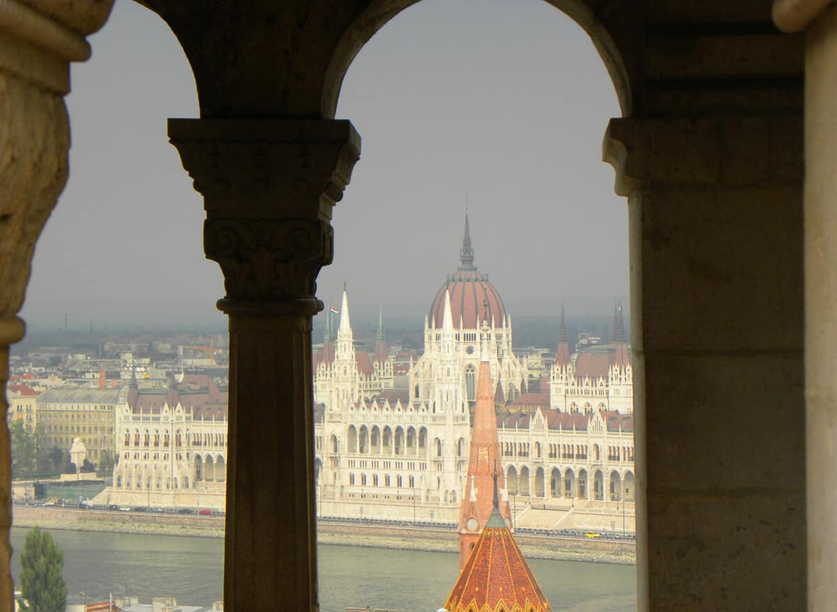 Views from Fisherman's Bastion. Budapest