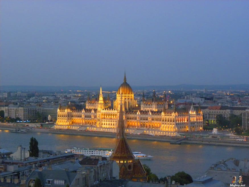 Views on Parliament, Budapest