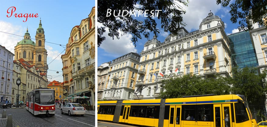 Prague or Budapest – which to visit?