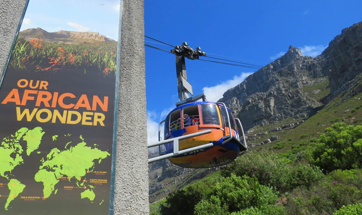 What you need to know about taking the Cable car up Table Mountain