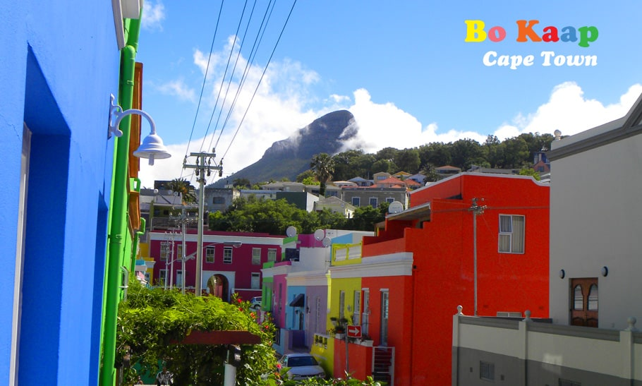 The Incredible Colors of Bo Kaap, Cape Town