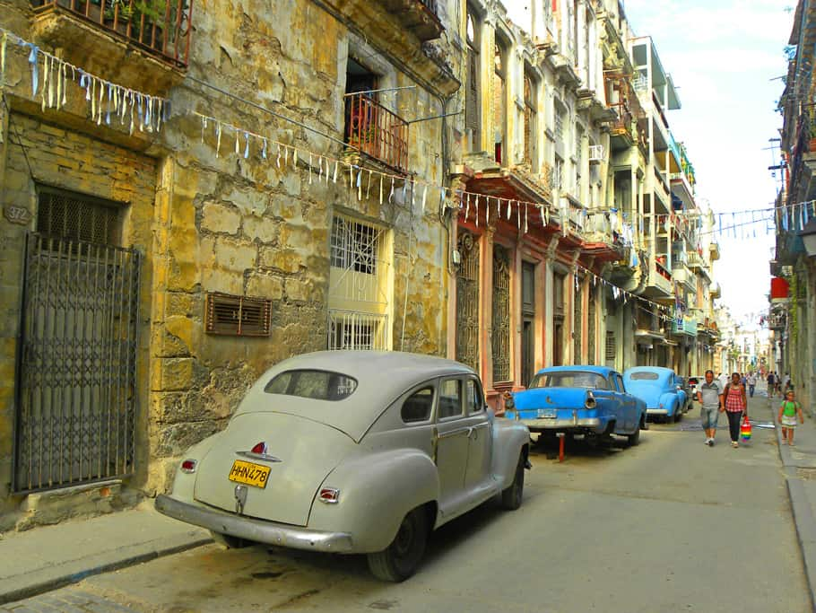 Cars in Central Havana. Why Now is the Time to Visit Cuba