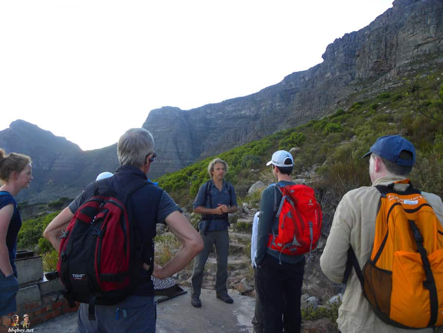 Hiking up Table Mountain, Cape Town - the India Venster trail (1)