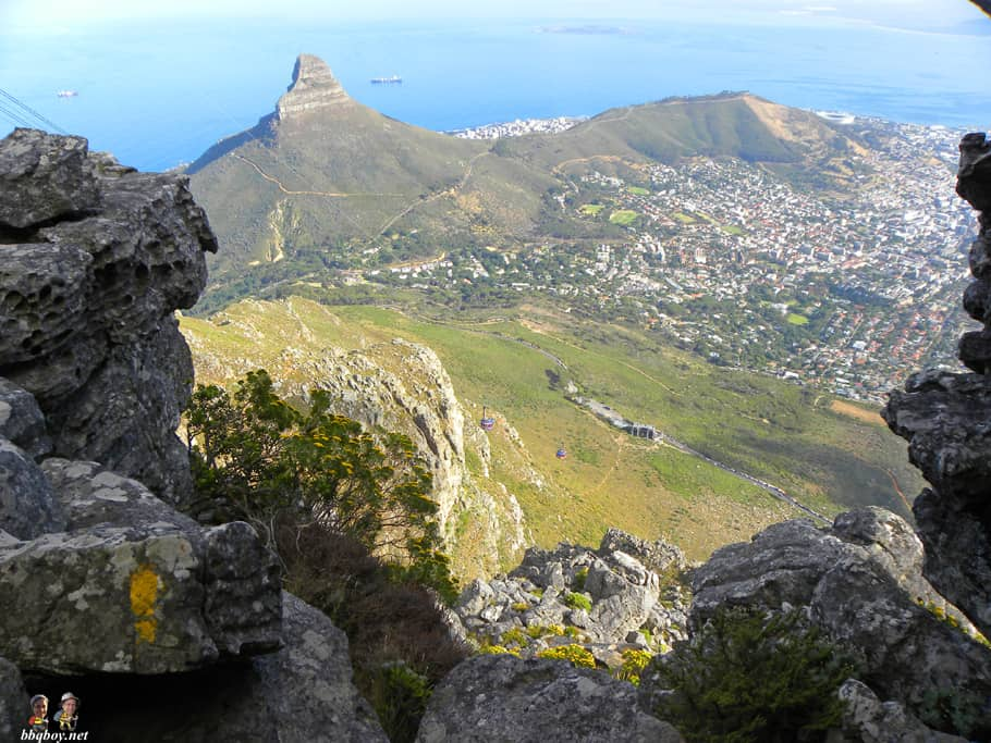 Hiking up Table Mountain, Cape Town - the India Venster trail (13)
