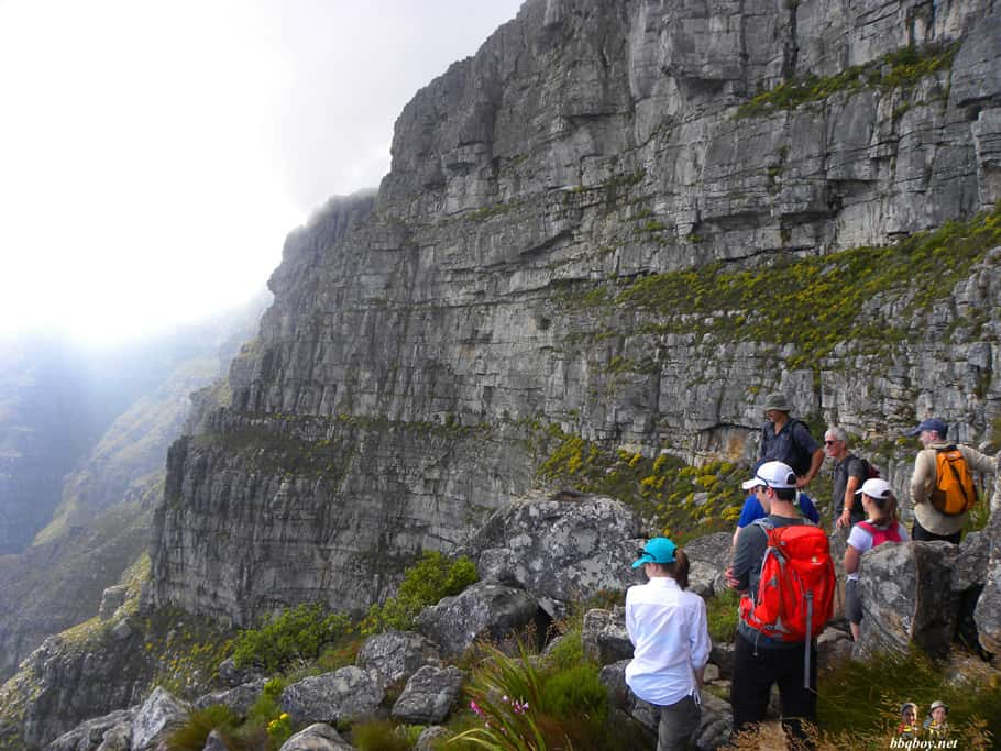 Hiking up Table Mountain, Cape Town - the India Venster trail (16)