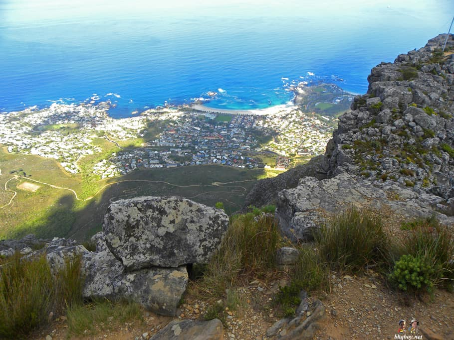 Hiking up Table Mountain, Cape Town - the India Venster trail (18)