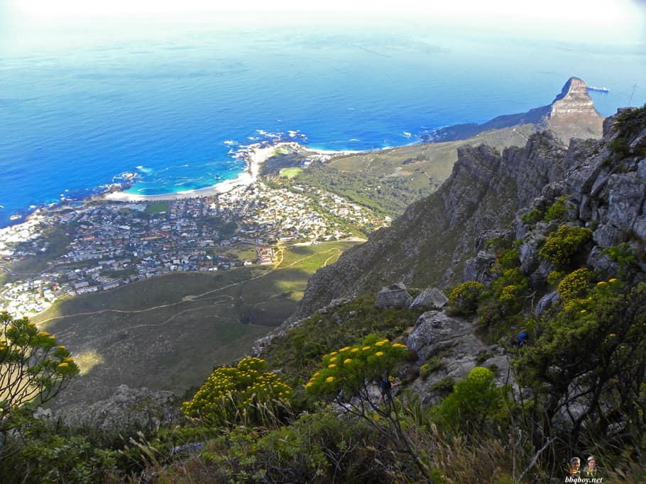 Hiking up Table Mountain, Cape Town - the India Venster trail (25)