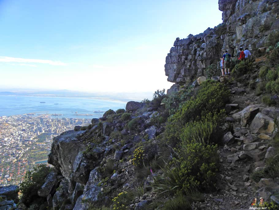 Hiking up Table Mountain, Cape Town - the India Venster trail (9)