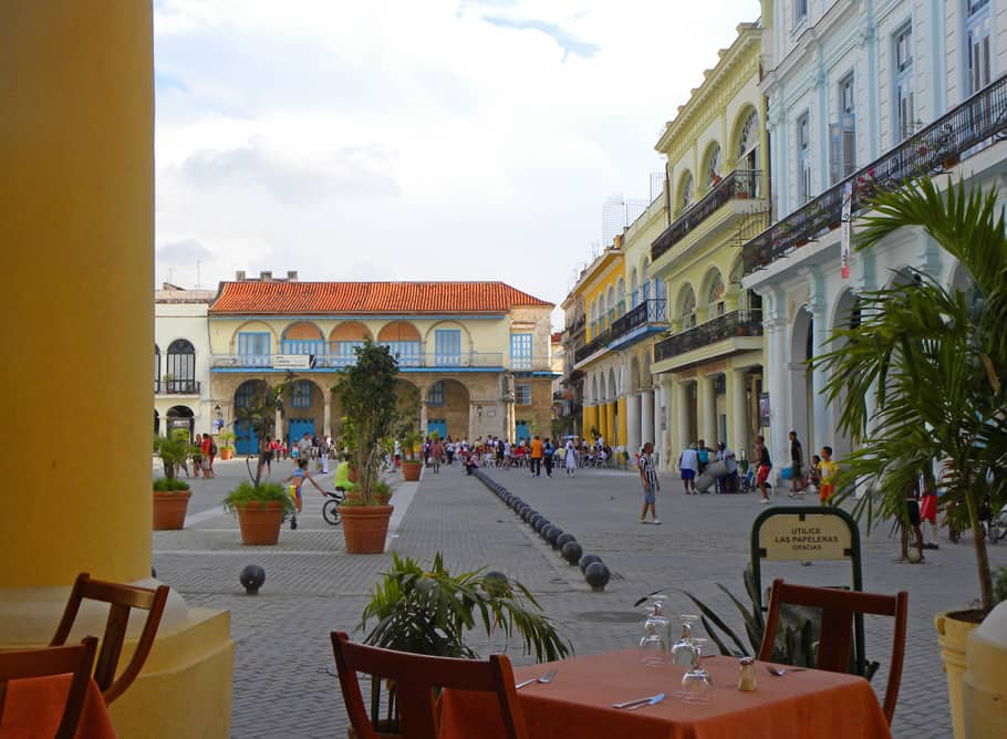 Square in Old Havana, Cuba. Why Now is the Time to Visit Cuba