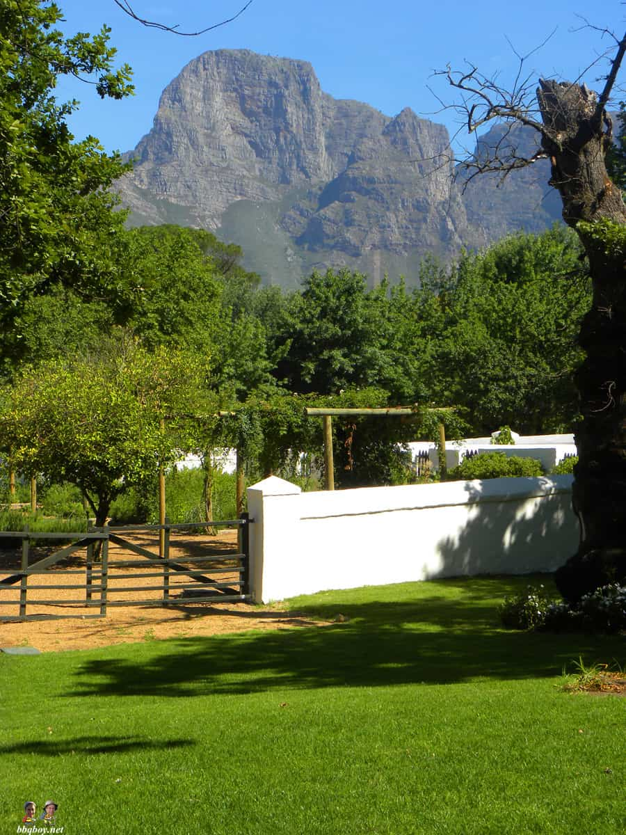 boschendal views, South Africa