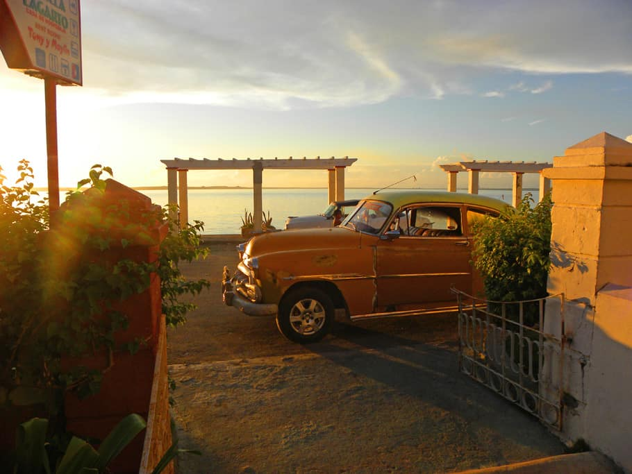 car in Cienfuegos. Why Now is the Time to Visit Cuba