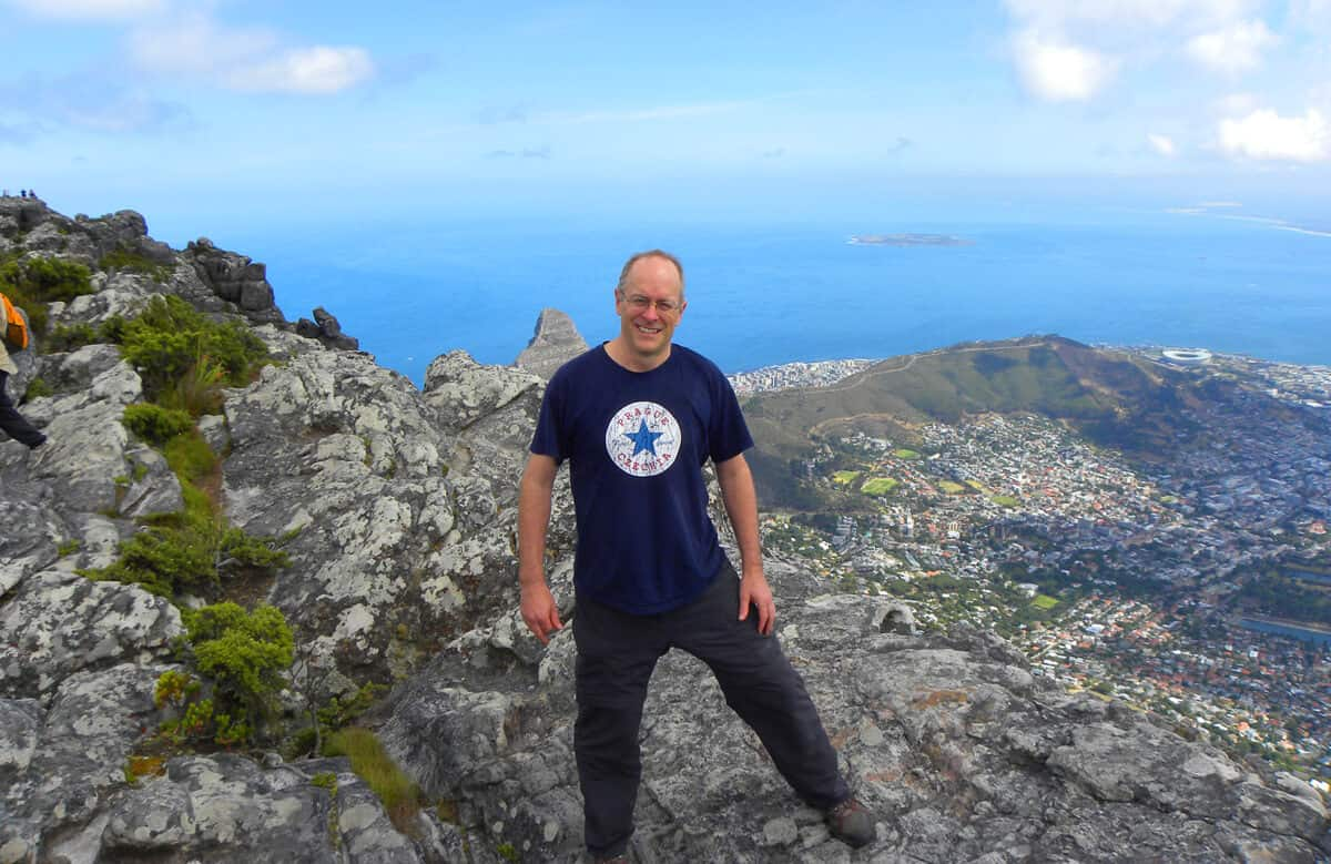 Views from Table Mountain, Cape Town, South Africa