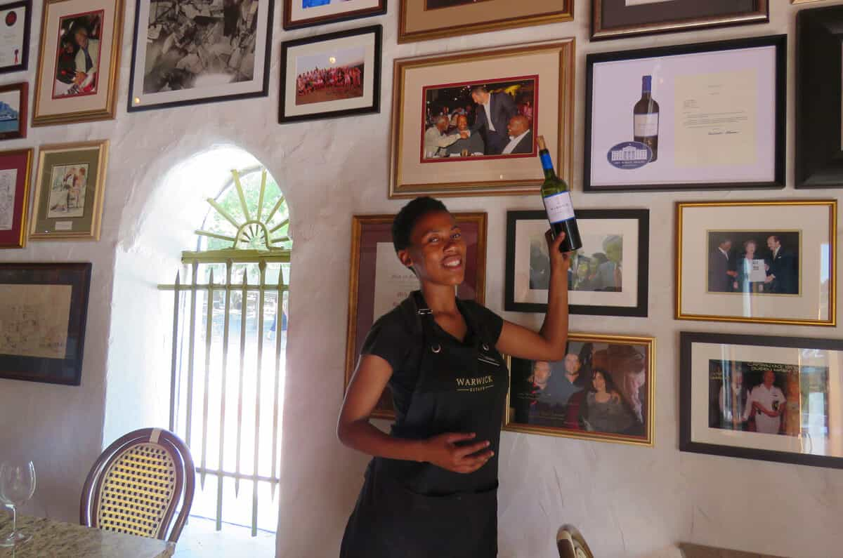 Warwick Wine Estate. A guide to the best wineries of Stellenbosch and Franschhoek
