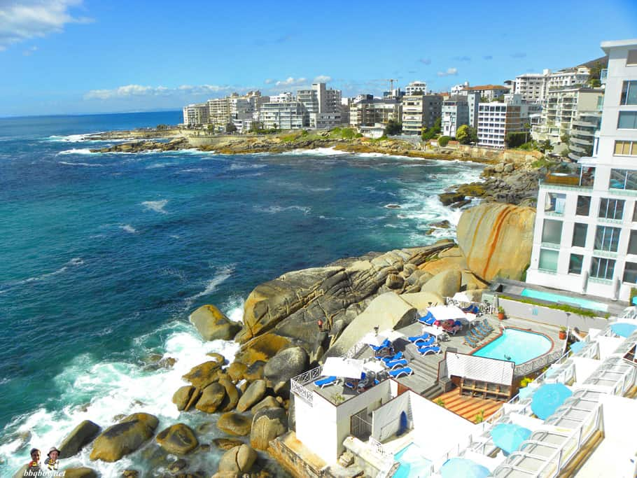 upscale hotel, bantry bay, cape town