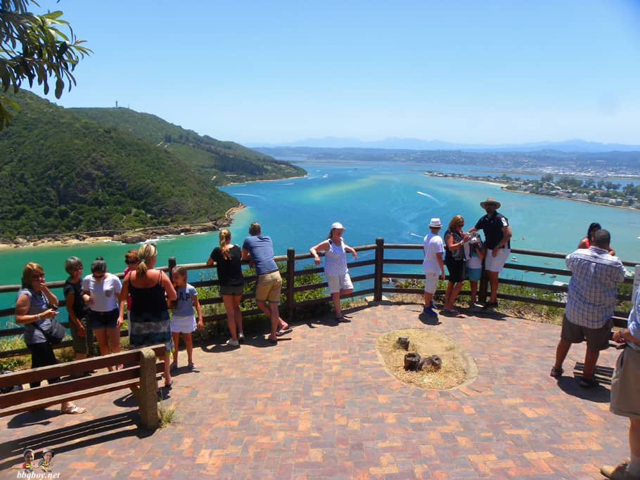 Knysna Heads views of lagoon