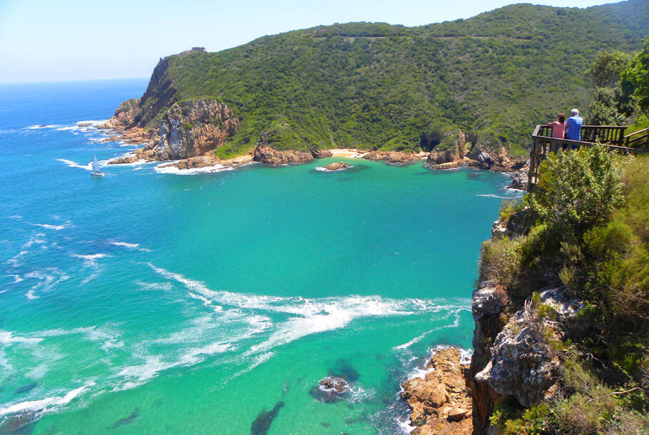 Views from the Knysna Heads, Knysna, South Africa. Highlights of a 2 week road trip around the Garden Route and Karoo, South Africa