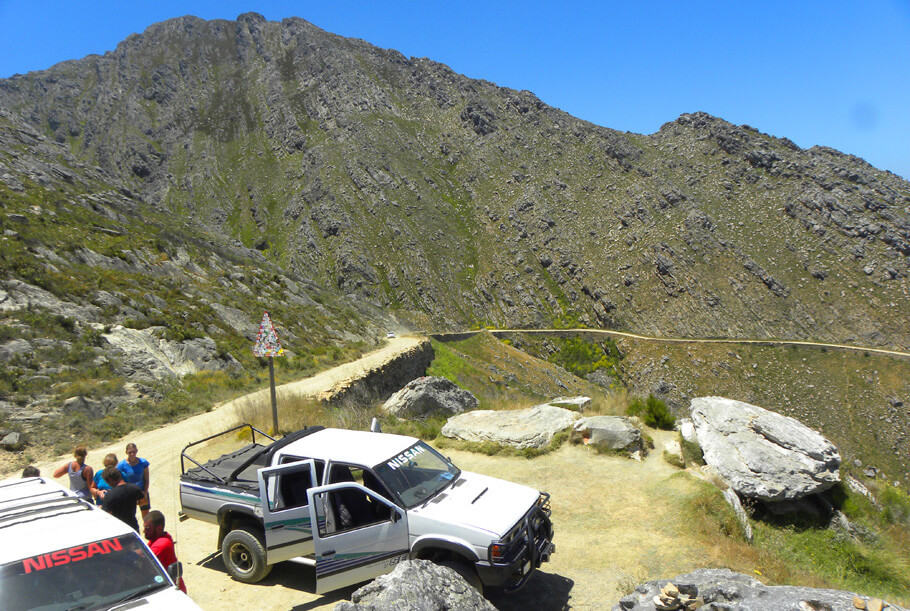 driving the Swartberg Pass, South Africa. Highlights of a 2 week road trip around the Garden Route and Karoo, South Africa