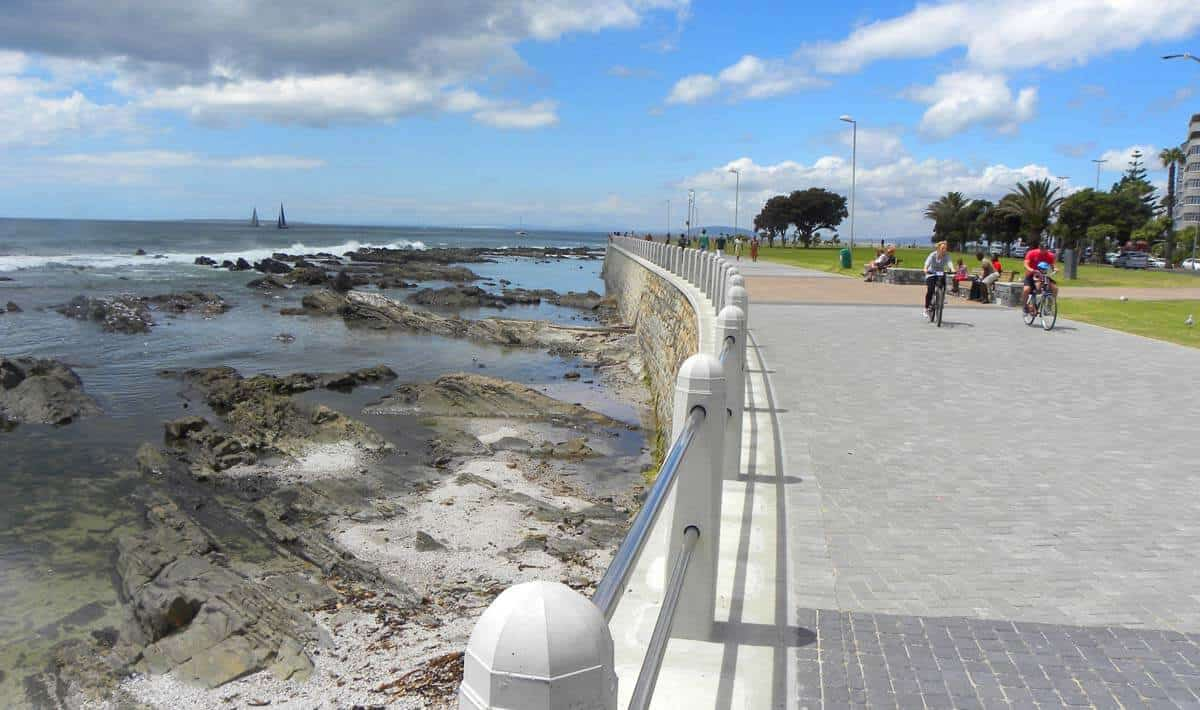along the Sea Point Promenade. Photo Essay: the Atlantic Coastline of Cape Town