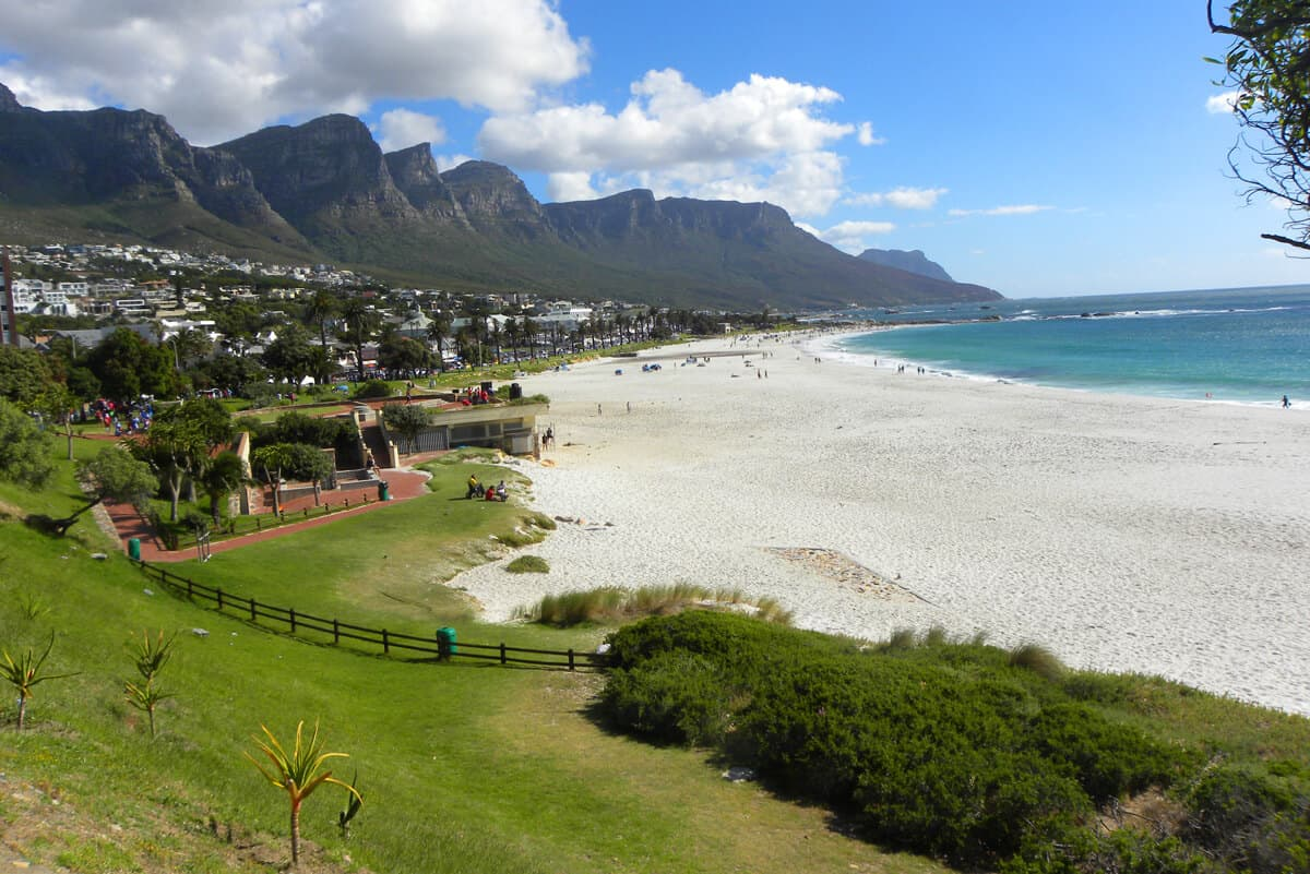 Camps Bay. the beaches of Cape Town
