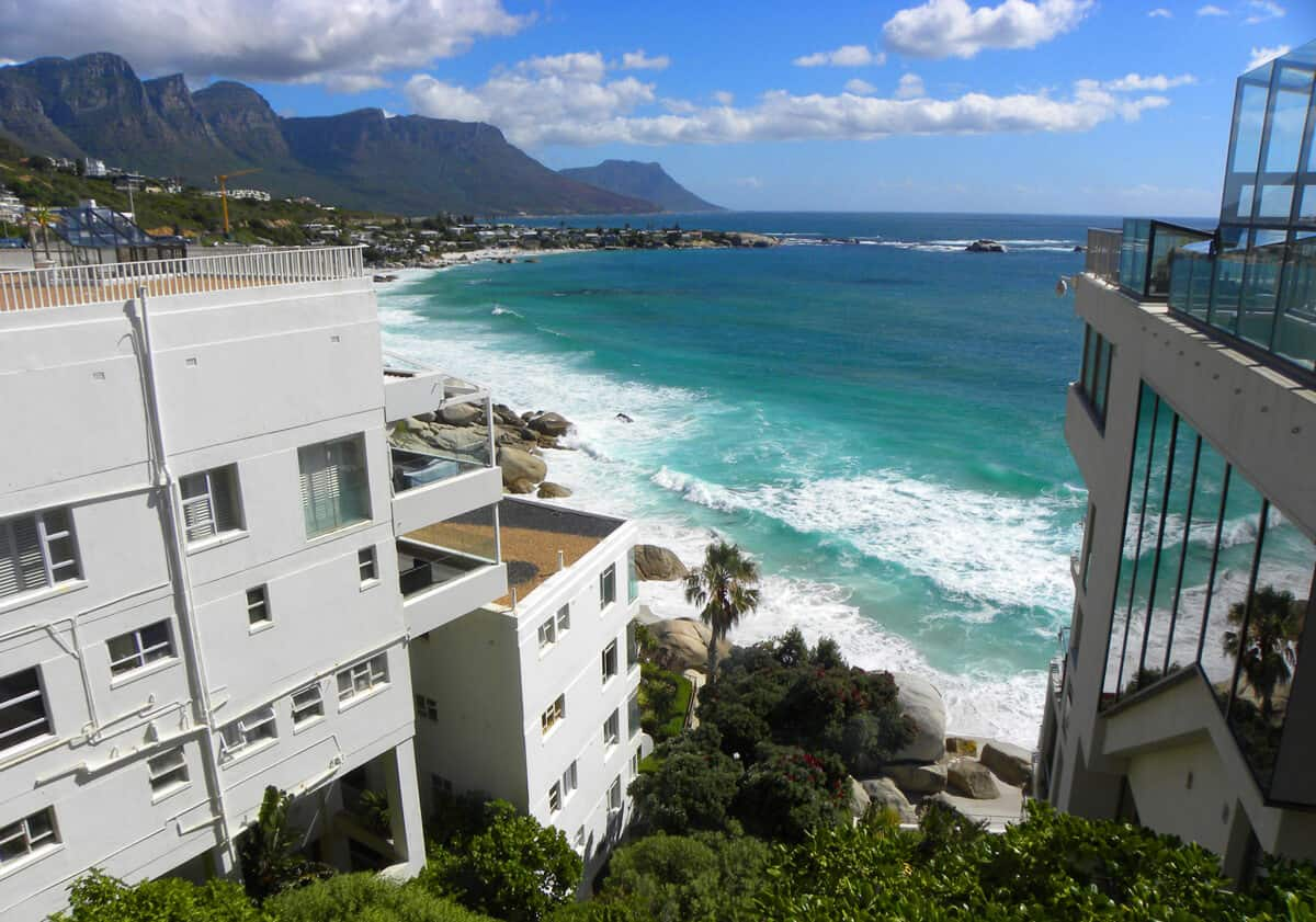 Clifton. the beaches of Cape Town