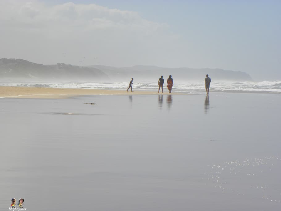 wilderness beach, south africa