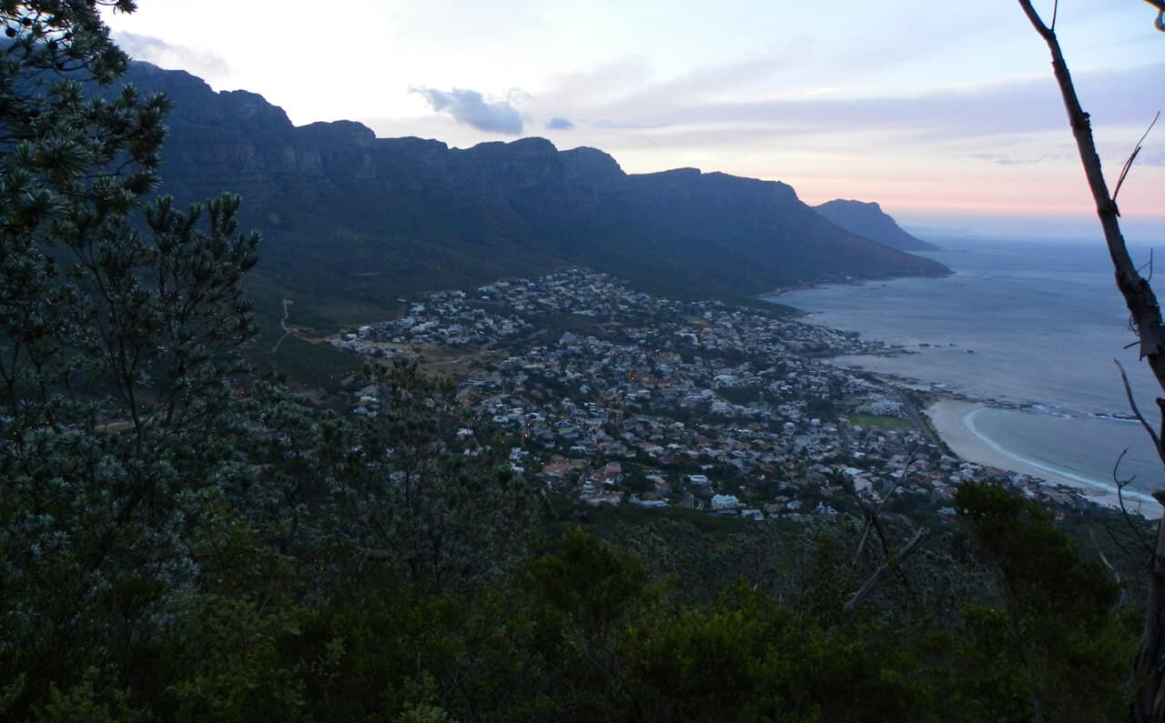 sunrise over Camps Bay, Lion's Head