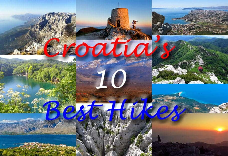 Croatia's 10 Best Hikes