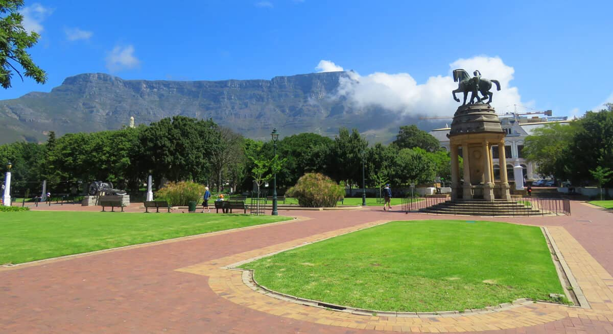 Gardens in Cape Town. Why we can't agree on South Africa