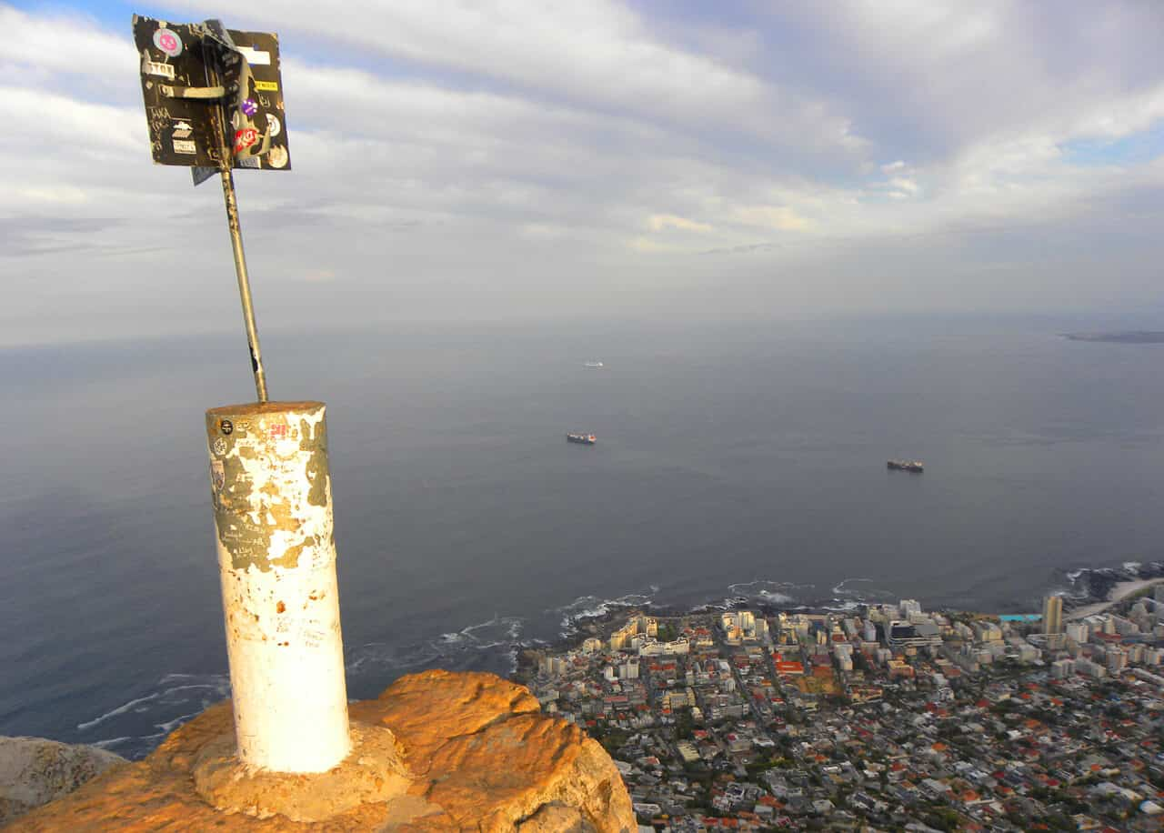 Views from Lion's Head, Cape Town