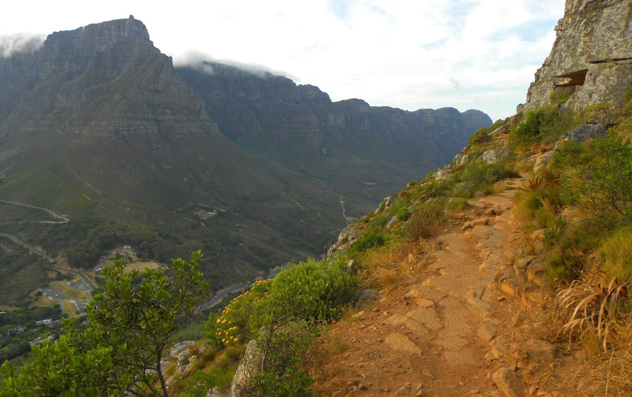 trail on Lion's Head, Cape Town