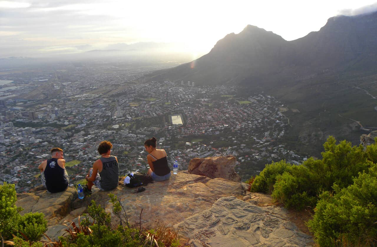 Views of Cape Town from Lion's Head