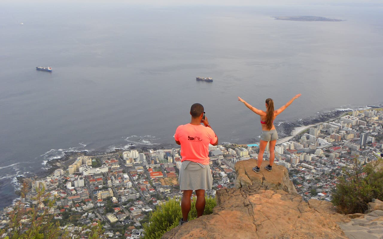 "Views from Lion's Head, Cape Town. The Essential ""Must do"" hike in Cape Town: Lion's Head"