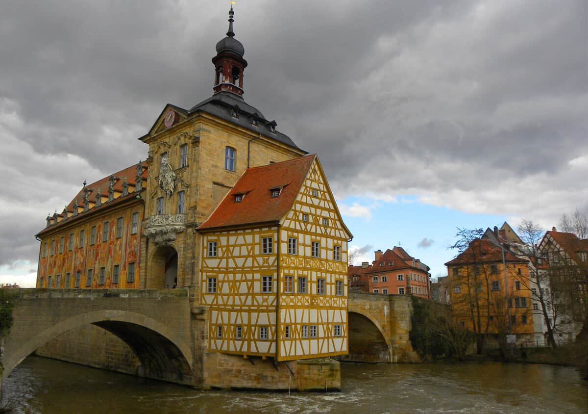 Rathous (Old Town Hall) in Bamberg, Germany