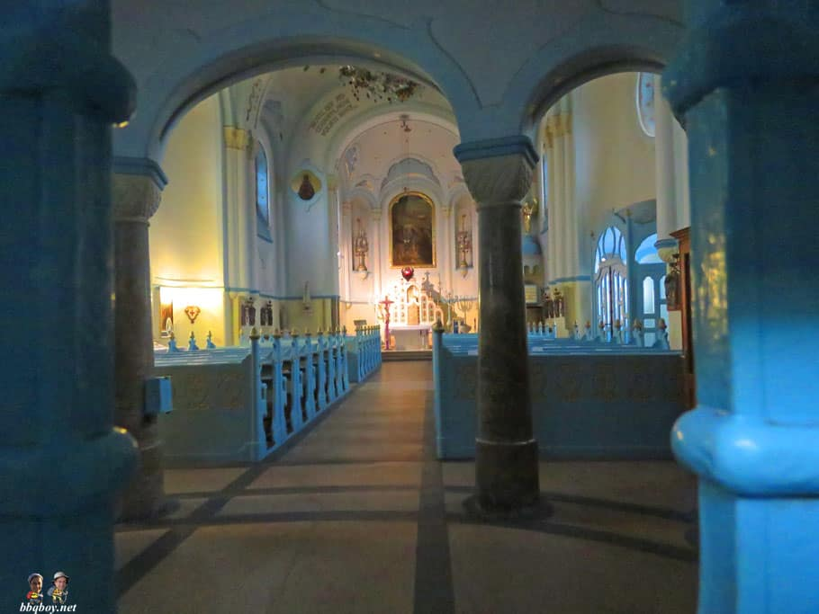 The Church of St. Elisabeth (Kostol svätej Alžbety), nicknamed The Blue Church (Modrý kostolík), interior,  Bratislava