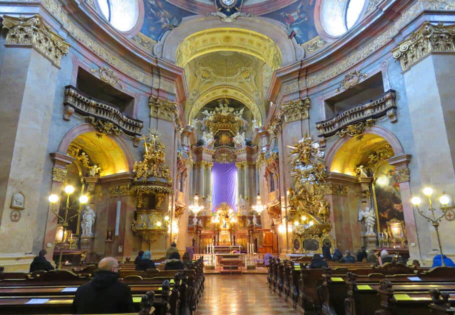 Peterskirche in Vienna, Austria. Why Vienna and Beyonce are kind of similar