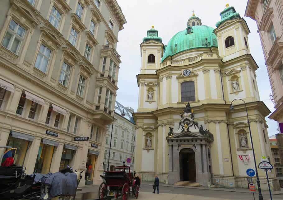 Peterskirche in Vienna, Austria