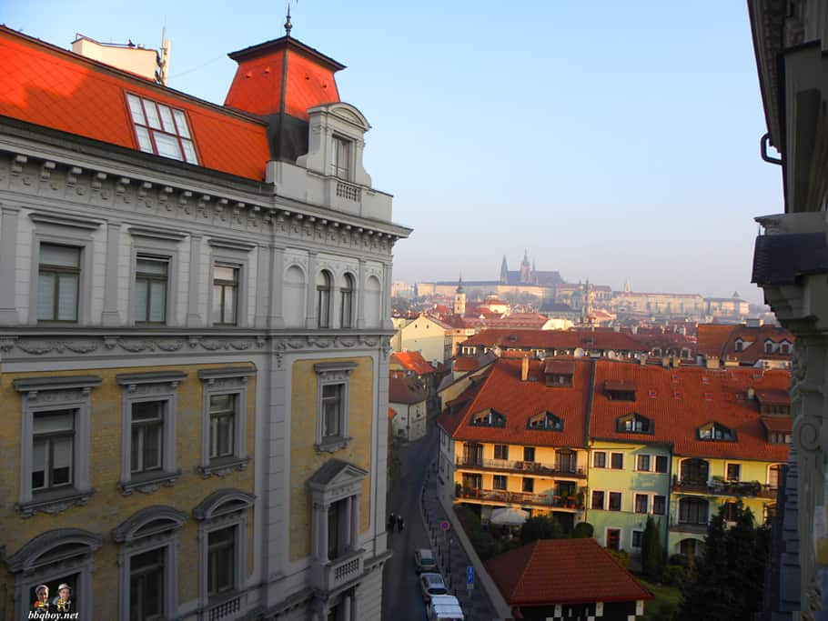 morning views, prague