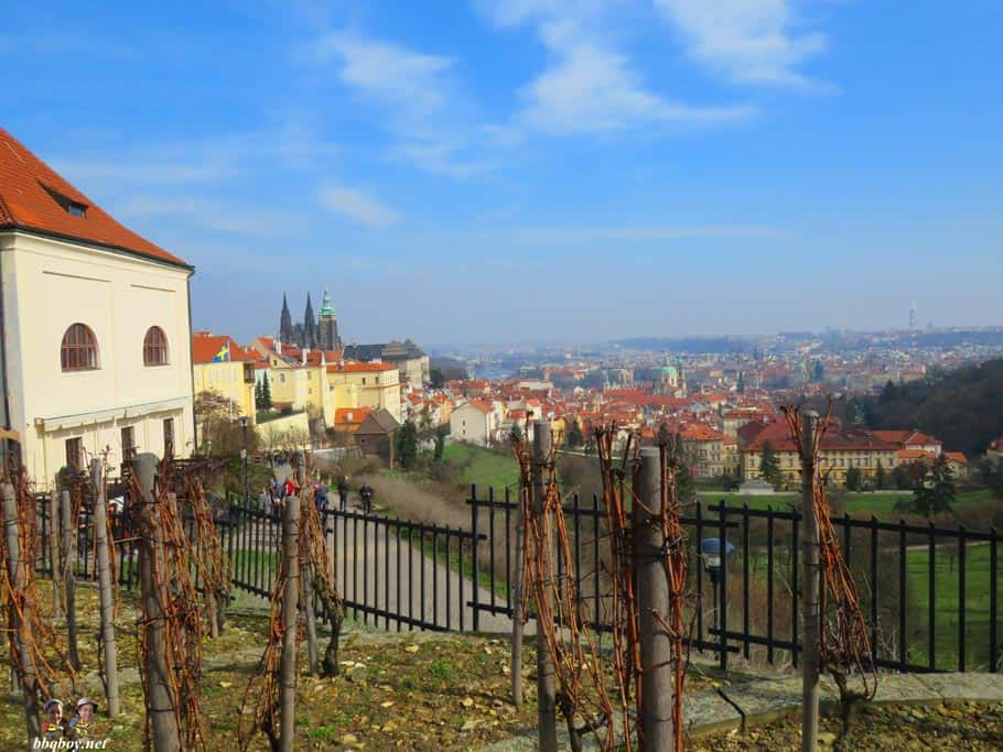 views from strahov monastery