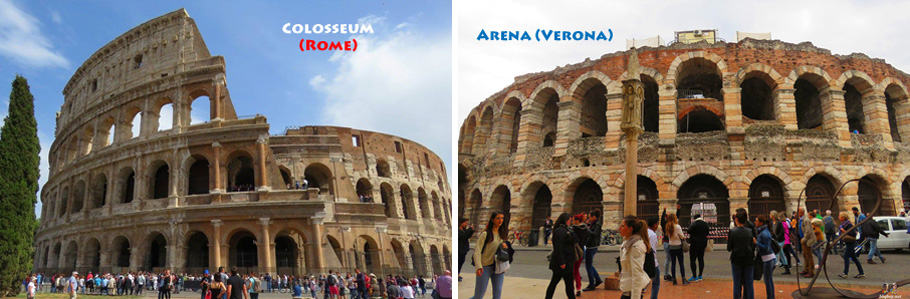 arenas in Italy. How Pula's Amphitheatre stacks up against other Roman arenas