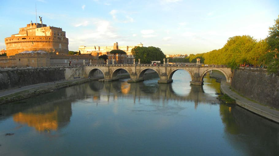 Castel Sant'Angelo, Rome. Why Rome is incredible.
