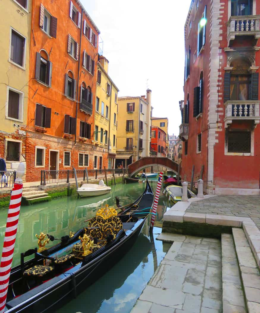 Gondola in Venice. A day in Venice (and on the joys of skipping the sights)