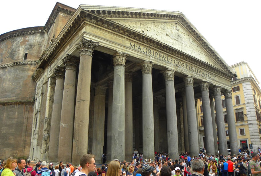 Pantheon. Forget everything you've read because Rome is Incredible